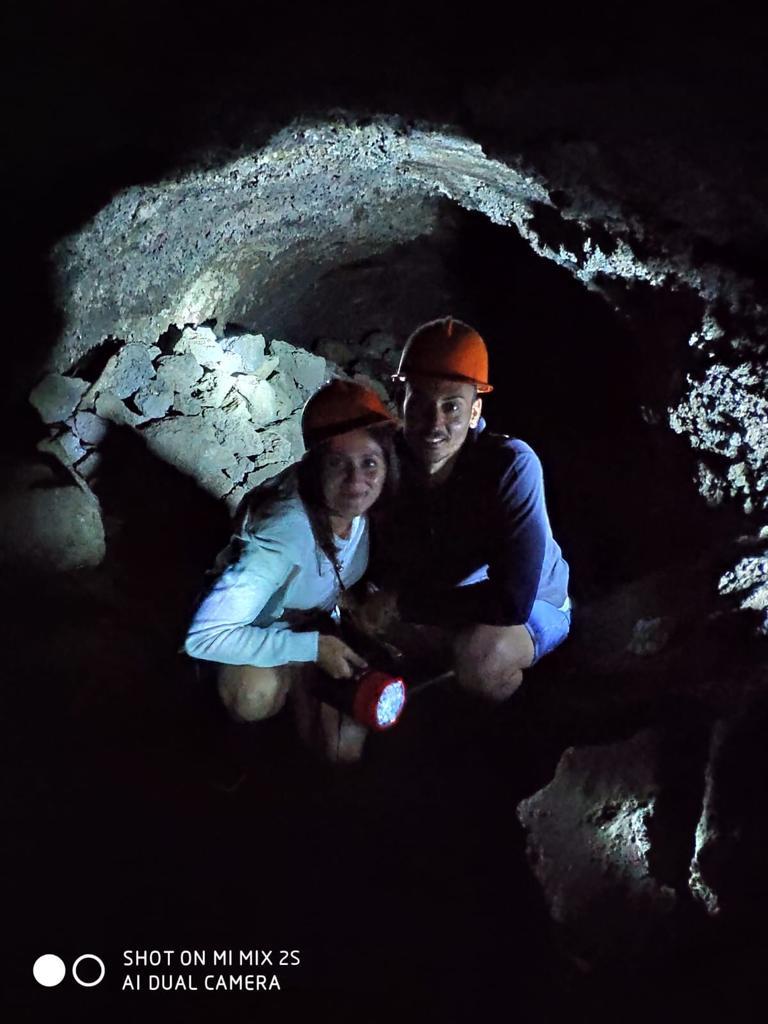 Mount Etna Tours inside the Cave